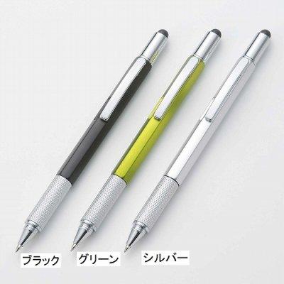 タッチペン付マルチツールペン/グリーン