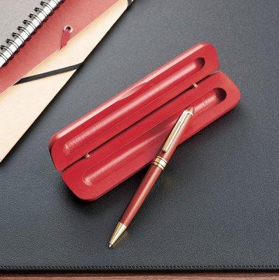 ケース入り木製ボールペン