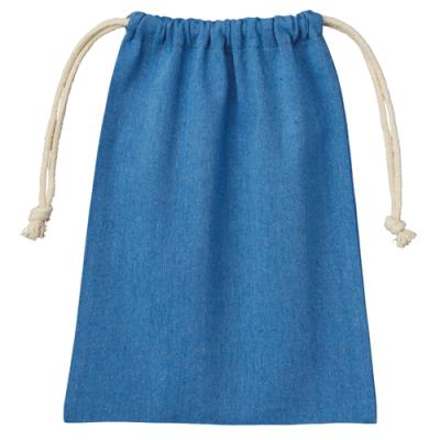 シャンブリック巾着(M) ブルー