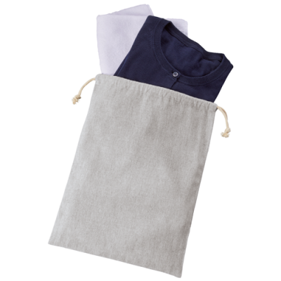シャンブリック巾着(L) グレー