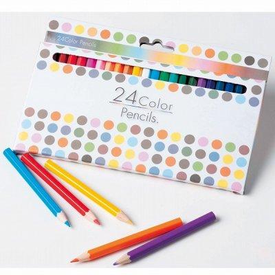 24色カラーペンシル