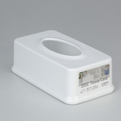 【国産】袋入りティッシュ用ケース (ホワイト)