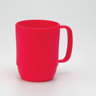 【国産】レンジマグカップ(レッド)