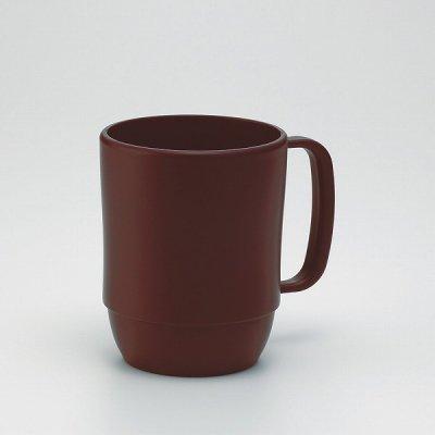 【国産】レンジマグカップ(ブラウン)