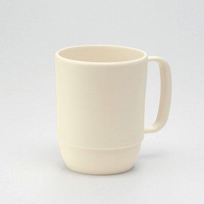 【国産】レンジマグカップ(アイボリー)