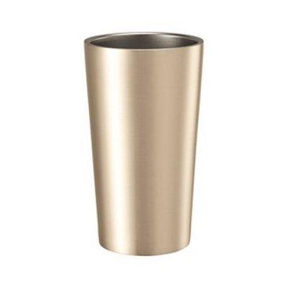 ステンレスサーモタンブラー450ml/ゴールド