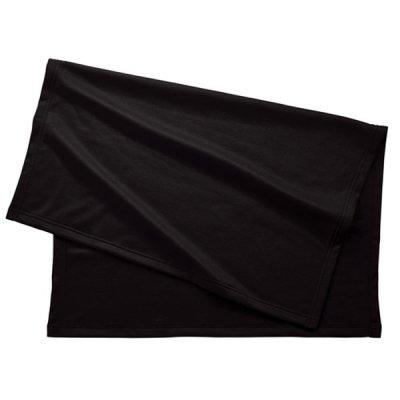 スムースフリースブランケット(バッグ付)/ブラック