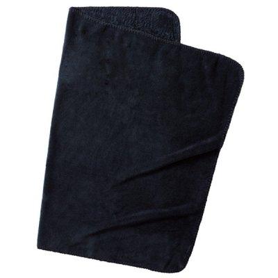 ロール巾着ブランケット/ブラック
