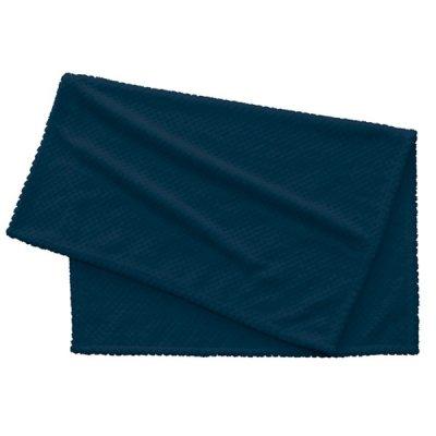 ピケブランケット(巾着付)/ネイビー