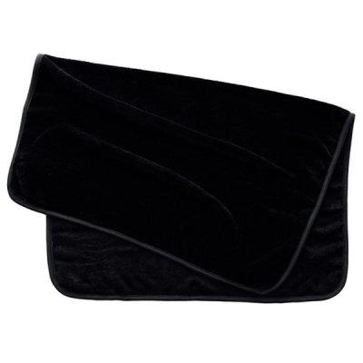 吸湿発熱ブランケット(巾着付)/ブラック