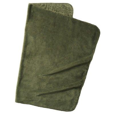 ロール巾着ブランケット/カーキ