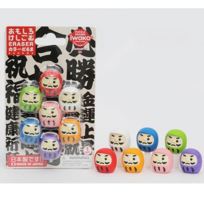 <img class='new_mark_img1' src='https://img.shop-pro.jp/img/new/icons11.gif' style='border:none;display:inline;margin:0px;padding:0px;width:auto;' />【国産】おもしろ消しゴム(カラーだるま)