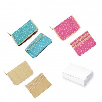 マルチカードケース&3ルームポケットセット(白箱入) 1個