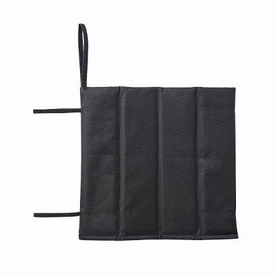 厚手折りたたみクッションシート/ブラック