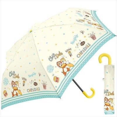55CM折傘 チップ&デール ホワイト
