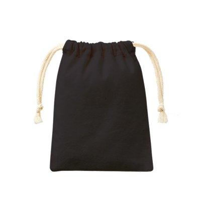 コットン巾着(SS)/ブラック