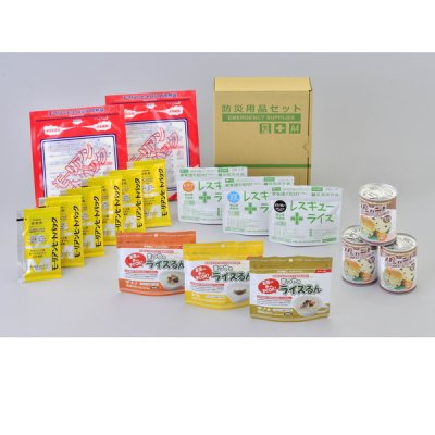 A4ボックス食料備蓄3日間セット BLS−03