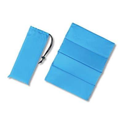クッションシート(巾着付き)/ブルー