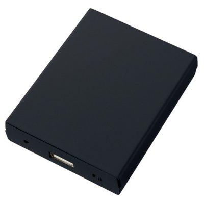 乾電池式モバイルチャージャー ワイド/ブラック