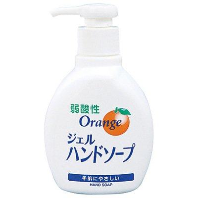 【国産】弱酸性オレンジジェルハンドソープ200ml