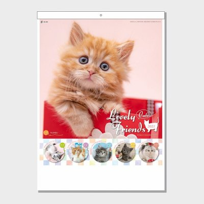 <img class='new_mark_img1' src='https://img.shop-pro.jp/img/new/icons11.gif' style='border:none;display:inline;margin:0px;padding:0px;width:auto;' />ラブリーフレンズ(猫)カレンダー