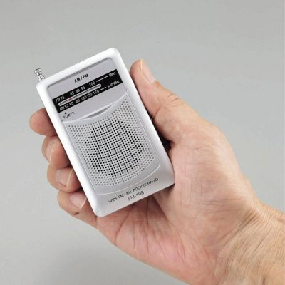 <img class='new_mark_img1' src='https://img.shop-pro.jp/img/new/icons11.gif' style='border:none;display:inline;margin:0px;padding:0px;width:auto;' />ワイドFM機能搭載 AM・FMポケットラジオ (スピーカー付)