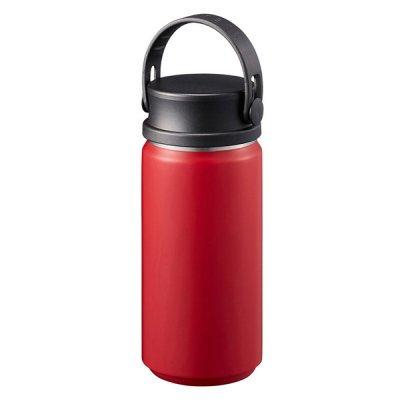 MOTTERUサーモハンドルスタイルボトル 350ml/レッド