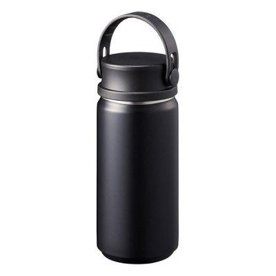 MOTTERUサーモハンドルスタイルボトル 350ml/ブラック