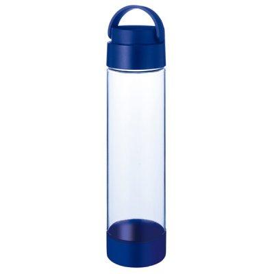 MOTTERUハンドル付クリアボトル 550ml/ネイビー