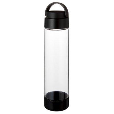 MOTTERUハンドル付クリアボトル 550ml/ブラック