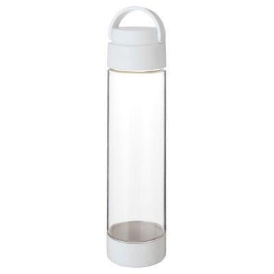 MOTTERUハンドル付クリアボトル 550ml/ホワイト