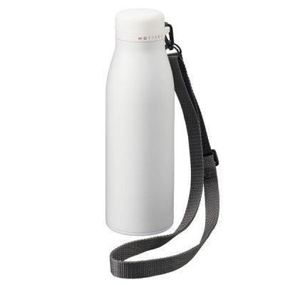 MOTTERUショルダーサーモステンレスボトル/ホワイト