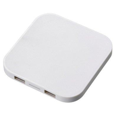 ワイヤレス充電器 スクエア 5W/ホワイト