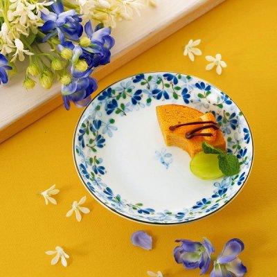 【国産】めばえ・3.5寸皿