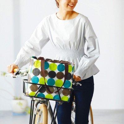 ソポラ・自転車カゴにぴったり保冷エコバッグ