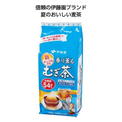 <img class='new_mark_img1' src='https://img.shop-pro.jp/img/new/icons11.gif' style='border:none;display:inline;margin:0px;padding:0px;width:auto;' />伊藤園 香り薫るむぎ茶ティーパック54袋入