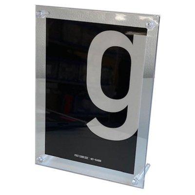 フォトフレーム 透明タイプ(ポストカードサイズ)