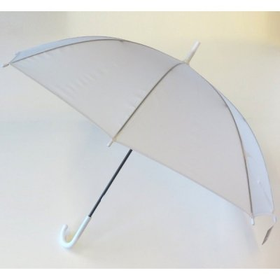 ビニール傘(半透明)
