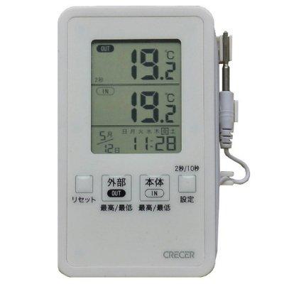 デジタルIN−OUT温度計