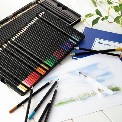 水彩 色鉛筆72色