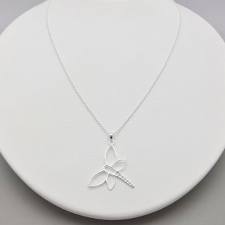 フレーム トンボペンダント<br/>【Silverbell Collection】