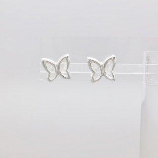 バタフライ<br/>スタッドピアス<br/>【Silverbell Collection】