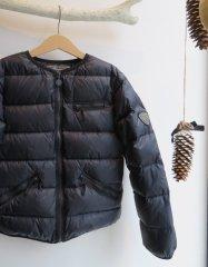 Bonpoint ボンポワン  ノーカラー ライトダウン ジャケット size10