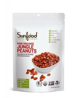 RAW ORGANIC JUNGLE PEANUTS/オーガニック ジャングルピーナッツ