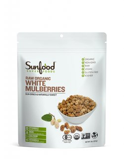 ORGANIC WHITE MULBERRIES/オーガニック ホワイトマルベリー