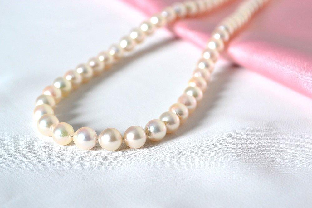 結婚式服装 二次会服装  同窓会のお供に。真珠レンタル(7.0mm-7.5mm) 【送料無料】【一週間レンタル】