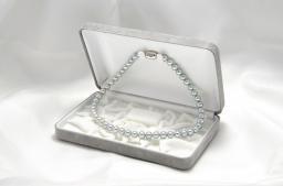 当店の黒真珠の中ではほぼ最高品質! 真珠レンタル(グレー)(7.5mm-8.0mm) 【送料無料】【一週間レンタル】
