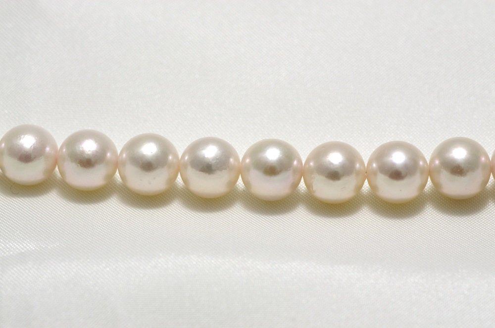 結婚式 ブライダル  パーティ ウェディング真珠レンタル(7.5mm-8.0mm) 【送料無料】【花珠ネックレス】