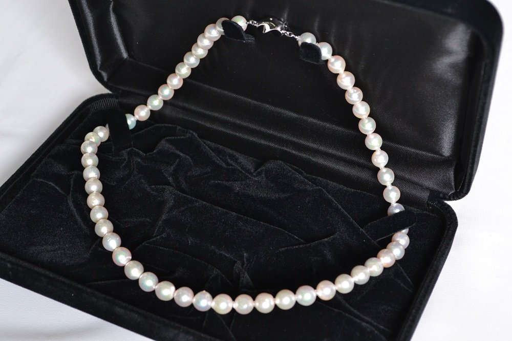 真珠一粒一粒に存在感がある!本真珠レンタル(7.5mm-8.0mm) 【送料無料】【一週間レンタル】