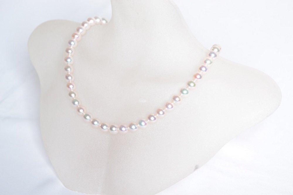 (NEW)高品質大粒真珠ネックレス!とにかく目立ちたい方にオススメ!真珠レンタル(8.0mm-8.5mm) 【送料無料】【一週間レンタル】